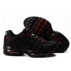Nike Air Max 95 Negras/Rojas