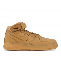 NIKE AIR FORCE ONE MID MARRONES